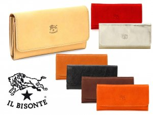 イルビゾンテ(Il Bisonte)レザー長財布/Continental Wallet in Cowhide Leather C0775P<img class='new_mark_img2' src='https://img.shop-pro.jp/img/new/icons16.gif' style='border:none;display:inline;margin:0px;padding:0px;width:auto;' />