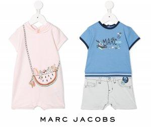 リトルマークジェイコブス(Little Marc Jacobs)ベビー用オーバーオール/だまし絵ロンパース/男児用&女児用/新生児〜18か月<img class='new_mark_img2' src='https://img.shop-pro.jp/img/new/icons16.gif' style='border:none;display:inline;margin:0px;padding:0px;width:auto;' />