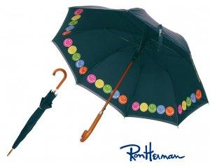 ロンハーマン(Ron Herman)雨傘/スマイル柄ネイビー/Exclusive RH Smiley Umbrella