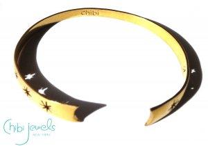 Chibi Jewels(チビジュエルズ)コスミックリフトスター星のバングルブレスレット/Cosmic Rift Cuff Bracelet/B173