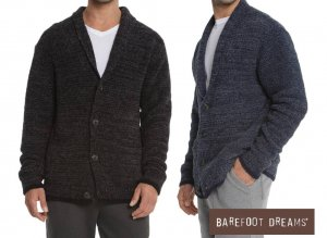 ベアフットドリームス(Barefoot Dreams)メンズカーディガン/CozyChic Men's Shawl Collar Cardigan/BDMCC1048