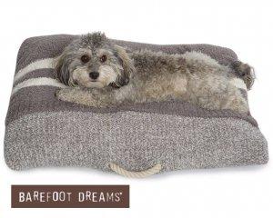 【Mサイズ】ベアフットドリームス(Barefoot Dreams)ペット用ベッド/犬、猫、動物用クッション寝袋/ドッグベッド/821
