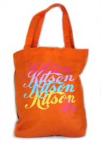 KITSON(キットソン)ロゴトートバッグ(オレンジ)<img class='new_mark_img2' src='https://img.shop-pro.jp/img/new/icons16.gif' style='border:none;display:inline;margin:0px;padding:0px;width:auto;' />
