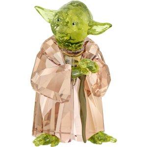 スワロフスキー(SWAROVSKI)スターウォーズ マスター・ヨーダ/Star Wars Master Yoda/クリスタルオブジェ/スワロフスキー社製置物<img class='new_mark_img2' src='https://img.shop-pro.jp/img/new/icons16.gif' style='border:none;display:inline;margin:0px;padding:0px;width:auto;' />