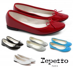 Repetto(レペット) サンドリオン バレエシューズ Cendrillon パテントレザー エナメルパンプス フラットシューズ 革靴<img class='new_mark_img2' src='//img.shop-pro.jp/img/new/icons16.gif' style='border:none;display:inline;margin:0px;padding:0px;width:auto;' />