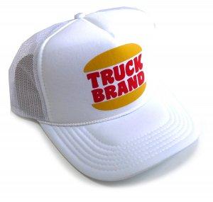 トラックブランド(Truck Brand)ハンバーガーショップ柄 Hungry メッシュキャップ/ホワイト<img class='new_mark_img2' src='https://img.shop-pro.jp/img/new/icons16.gif' style='border:none;display:inline;margin:0px;padding:0px;width:auto;' />
