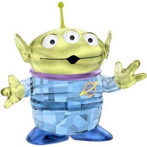 スワロフスキー(SWAROVSKI)トイ・ストーリー エイリアン/Disney Pixar's Toy Story/クリスタルオブジェ/スワロフスキー社製置物<img class='new_mark_img2' src='https://img.shop-pro.jp/img/new/icons16.gif' style='border:none;display:inline;margin:0px;padding:0px;width:auto;' />