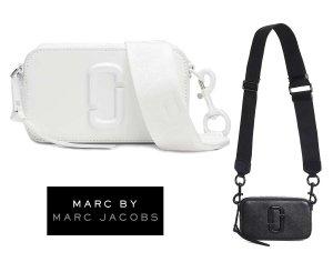 マークジェイコブス(Marc by Marc Jacobs)SNAPSHOT DTMスナップショット レザーショルダーバッグ ブラック ホワイト ポシェット<img class='new_mark_img2' src='https://img.shop-pro.jp/img/new/icons5.gif' style='border:none;display:inline;margin:0px;padding:0px;width:auto;' />