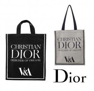 【DIOR展限定】クリスチャンディオール(Christian Dior)トートバッグ/ヴィクトリア&アルバート博物館