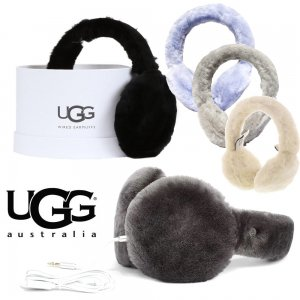 UGG(アグ)ムートンヘッドフォン耳あて/エクスポーズ シープスキン イヤーマフ/BOX付き/EXPOSED SHEEPSKIN TECH EARMUFF<img class='new_mark_img2' src='//img.shop-pro.jp/img/new/icons16.gif' style='border:none;display:inline;margin:0px;padding:0px;width:auto;' />