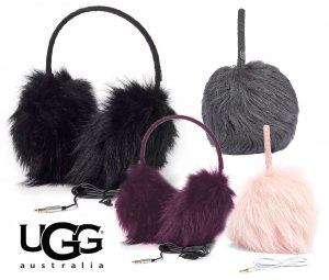 UGG(アグ)ロングファー ムートンヘッドフォン耳あて/イヤーマフ/シープスキン/BOX付き/LONG PILE SHEEPSKIN TECH EARMUFF<img class='new_mark_img2' src='//img.shop-pro.jp/img/new/icons16.gif' style='border:none;display:inline;margin:0px;padding:0px;width:auto;' />
