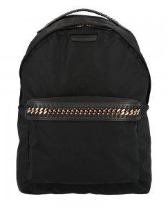クリアランス/ステラマッカートニー(STELLA McCARTNEY)リュックサック バックパック ブラック Backpack Eco Nylon Falabella<img class='new_mark_img2' src='https://img.shop-pro.jp/img/new/icons16.gif' style='border:none;display:inline;margin:0px;padding:0px;width:auto;' />