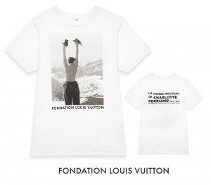 パリ限定!LOUIS VUITTON/ルイヴィトン美術館/Tシャツ/Charlotte Perriand:Inventing a new world 公式Tシャツ