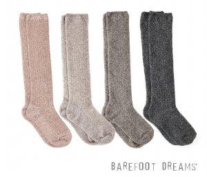 ベアフットドリームス(Barefoot Dreams)靴下レディース/ひざ下丈リブドニットソックス/コージーシック Cozychic Women's Ribbed Sock #BDWCC1075<img class='new_mark_img2' src='https://img.shop-pro.jp/img/new/icons5.gif' style='border:none;display:inline;margin:0px;padding:0px;width:auto;' />