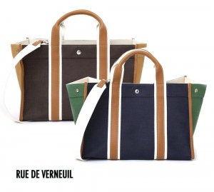 Rue De Verneuil(リュ ドゥ ヴェルヌイユ)2Wayトートバッグ/TRAVELLER M-S2 LINEN/リネンハンドバッグ ショルダーバッグ<img class='new_mark_img2' src='//img.shop-pro.jp/img/new/icons16.gif' style='border:none;display:inline;margin:0px;padding:0px;width:auto;' />