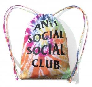 【2020年春夏新作】アンチソーシャルソーシャルクラブ(ANTI SOCIAL SOCIAL CLUB)リュック バックパック 巾着 レインボータイダイ ASSC