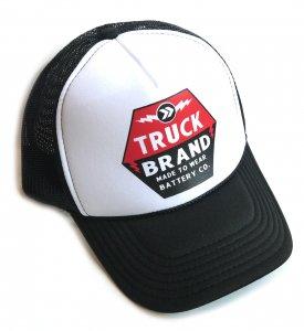 トラックブランド(Truck Brand)BATTERYメッシュキャップ/ブラック×ホワイト<img class='new_mark_img2' src='https://img.shop-pro.jp/img/new/icons5.gif' style='border:none;display:inline;margin:0px;padding:0px;width:auto;' />