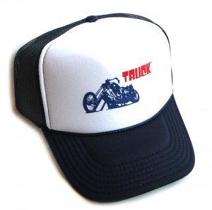 トラックブランド(Truck Brand)バイク柄メッシュキャップ/ネイビー×ホワイト<img class='new_mark_img2' src='https://img.shop-pro.jp/img/new/icons5.gif' style='border:none;display:inline;margin:0px;padding:0px;width:auto;' />