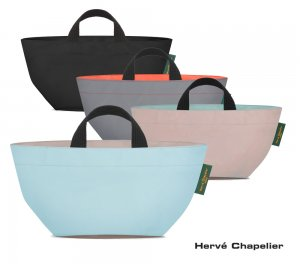 Herve Chapelier(エルベシャプリエ)901N ナイロン舟型トートS/ミニトートバッグ<img class='new_mark_img2' src='https://img.shop-pro.jp/img/new/icons5.gif' style='border:none;display:inline;margin:0px;padding:0px;width:auto;' />