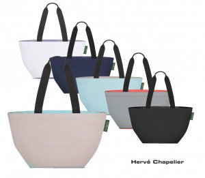 Herve Chapelier(エルベシャプリエ)1028N ナイロン舟型ショルダーML/トートバッグ<img class='new_mark_img2' src='https://img.shop-pro.jp/img/new/icons5.gif' style='border:none;display:inline;margin:0px;padding:0px;width:auto;' />