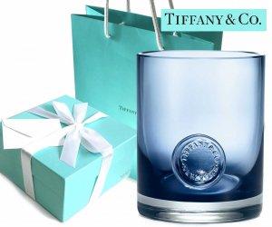 TIFFANY & CO(ティファニー)クリスタルウォーターグラス ティファニーシール/食器/紙袋付き/240ml