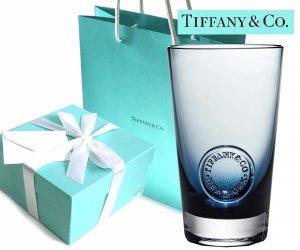 TIFFANY & CO(ティファニー)クリスタルパイントグラス ティファニーシール/食器/紙袋付き/591ml