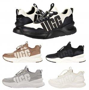 【2020年冬入荷】UGG アグ スニーカー/LA Daze Sneaker/エルエーデイズ 厚底ソール レディース/ブラックホワイト<img class='new_mark_img2' src='https://img.shop-pro.jp/img/new/icons5.gif' style='border:none;display:inline;margin:0px;padding:0px;width:auto;' />