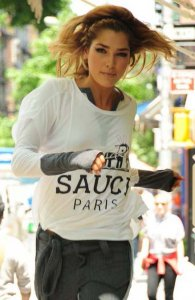 sauce(ソース)Paris London Tシャツ(ホワイト)<img class='new_mark_img2' src='https://img.shop-pro.jp/img/new/icons16.gif' style='border:none;display:inline;margin:0px;padding:0px;width:auto;' />