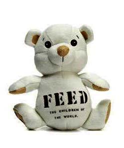 【最終セール!】フィード(Feed)オーガニックコットンテディベア/FEED 5 Small Bear