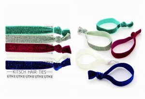 Kitsch(キッチュ)Berrybling グリッターヘアアクセサリー5本セット/ヘアゴム/ブレスレット/Hair Ties<img class='new_mark_img2' src='//img.shop-pro.jp/img/new/icons16.gif' style='border:none;display:inline;margin:0px;padding:0px;width:auto;' />