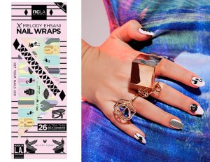 NCLA(エヌシーエルエー)Art Deco/ネイルシール/ネイルラップ/NAIL WRAPS/22×2シート44本分<img class='new_mark_img2' src='//img.shop-pro.jp/img/new/icons16.gif' style='border:none;display:inline;margin:0px;padding:0px;width:auto;' />