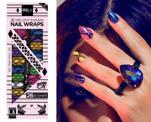 NCLA(エヌシーエルエー)Python Paragon/ネイルシール/ネイルラップ/NAIL WRAPS/22×2シート44本分<img class='new_mark_img2' src='//img.shop-pro.jp/img/new/icons16.gif' style='border:none;display:inline;margin:0px;padding:0px;width:auto;' />