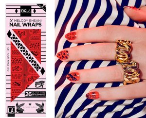NCLA(エヌシーエルエー)Sketch/ネイルシール/ネイルラップ/NAIL WRAPS/26本分<img class='new_mark_img2' src='//img.shop-pro.jp/img/new/icons16.gif' style='border:none;display:inline;margin:0px;padding:0px;width:auto;' />