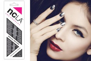 NCLA ROOMSERVICE STILETTOS&CHAMPAGNE/ネイルシール/ネイルラップ/NAIL WRAPS/22×2シート44本分<img class='new_mark_img2' src='https://img.shop-pro.jp/img/new/icons16.gif' style='border:none;display:inline;margin:0px;padding:0px;width:auto;' />