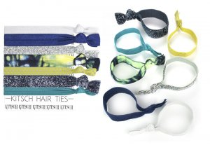 Kitsch(キッチュ)Sun & Surf サン&サーフヘアアクセサリー7本セット/ヘアゴム/ブレスレット/Hair Ties<img class='new_mark_img2' src='https://img.shop-pro.jp/img/new/icons16.gif' style='border:none;display:inline;margin:0px;padding:0px;width:auto;' />
