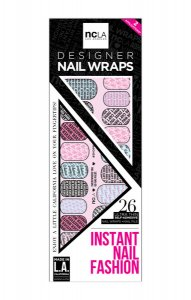 NCLA Everywhere You Go Has Valet/ネイルシール/ネイルラップ/NAIL WRAPS/22×2シート44本分<img class='new_mark_img2' src='https://img.shop-pro.jp/img/new/icons16.gif' style='border:none;display:inline;margin:0px;padding:0px;width:auto;' />