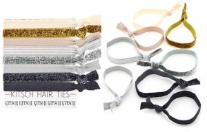 Kitsch(キッチュ)Naturally Mini ヘアアクセサリー8本セット/ヘアゴム/ブレスレット/Hair Ties<img class='new_mark_img2' src='//img.shop-pro.jp/img/new/icons16.gif' style='border:none;display:inline;margin:0px;padding:0px;width:auto;' />