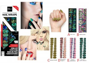 NCLAネイルシール/ネイルラップ/NAIL WRAPS/26本分<img class='new_mark_img2' src='https://img.shop-pro.jp/img/new/icons16.gif' style='border:none;display:inline;margin:0px;padding:0px;width:auto;' />