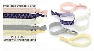 Kitsch(キッチュ)BLUSHING BRIDE レース柄ヘアアクセサリー5本セット/ヘアゴム/ブレスレット/Hair Ties<img class='new_mark_img2' src='//img.shop-pro.jp/img/new/icons16.gif' style='border:none;display:inline;margin:0px;padding:0px;width:auto;' />