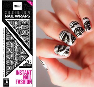 NCLA(エヌシーエルエー)レース柄PIZZOネイルシール/ネイルラップ/NAIL WRAPS/26本分<img class='new_mark_img2' src='https://img.shop-pro.jp/img/new/icons16.gif' style='border:none;display:inline;margin:0px;padding:0px;width:auto;' />