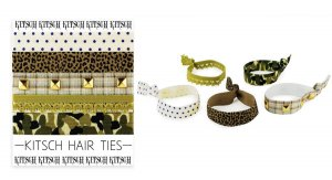 Kitsch(キッチュ)G.I. Jane ヘアアクセサリー5本セット/ヘアゴム/ブレスレット/Hair Ties<img class='new_mark_img2' src='https://img.shop-pro.jp/img/new/icons16.gif' style='border:none;display:inline;margin:0px;padding:0px;width:auto;' />