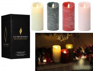 【送料無料/電池付】ルミナラ(Luminara)LEDキャンドルライト/M/火を使わないアロマキャンドル