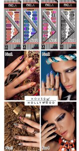 NCLA×House of Hollywoodネイルシール/ネイルラップ/NAIL WRAPS/26本分/エヌシーエルエー<img class='new_mark_img2' src='https://img.shop-pro.jp/img/new/icons16.gif' style='border:none;display:inline;margin:0px;padding:0px;width:auto;' />