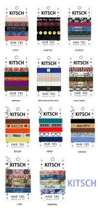 Kitsch(キッチュ)ヘアアクセサリー5本セット/ヘアゴム/ブレスレット/Hair Ties<img class='new_mark_img2' src='//img.shop-pro.jp/img/new/icons16.gif' style='border:none;display:inline;margin:0px;padding:0px;width:auto;' />