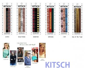 Kitsch(キッチュ)ヘアバンド3本セット/ヘッドバンド/ヘアアクセ/HEADBANDS<img class='new_mark_img2' src='//img.shop-pro.jp/img/new/icons16.gif' style='border:none;display:inline;margin:0px;padding:0px;width:auto;' />