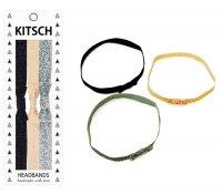 Kitsch(キッチュ)Bow リボン型ヘアバンド3本セット/ヘッドバンド/ヘアアクセ/HEADBANDS