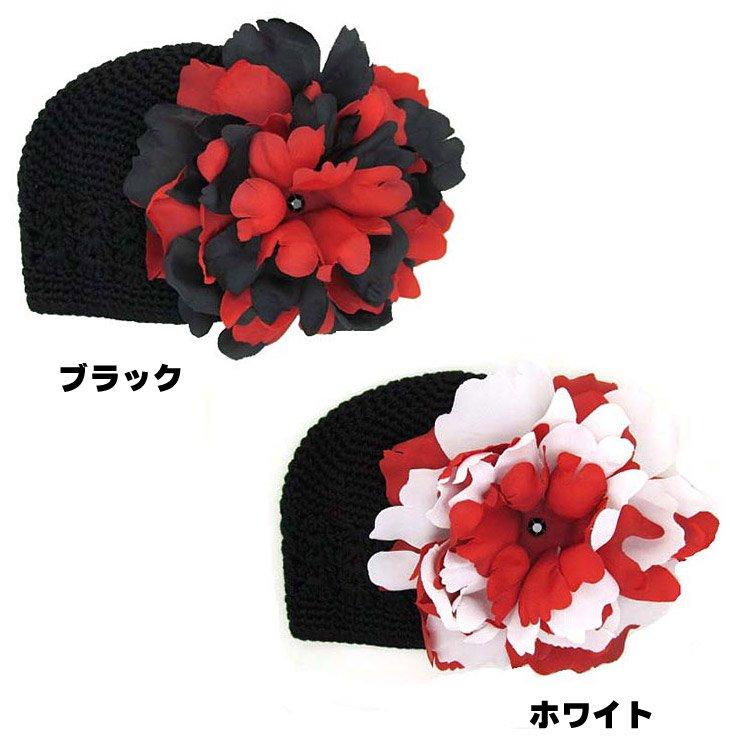 ジェイミーレイハット(Jamie Rae Hats)ベビーニット帽子/ラインストーン付きかぎ針編み/子供用