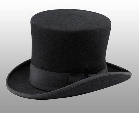 ニューヨークハット(New York Hat)マッドハッターハット/MAD HATTER/シルクハット(ブラック)
