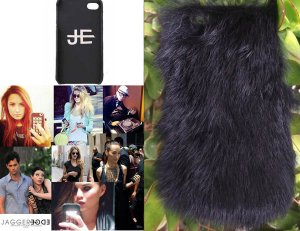 【iPhone6ケース】ジャガーエッジ(Jagger Edge)ラビットファーiPhone6ケース/IPHONE COVER BLACK FUR(ブラック)<img class='new_mark_img2' src='//img.shop-pro.jp/img/new/icons16.gif' style='border:none;display:inline;margin:0px;padding:0px;width:auto;' />