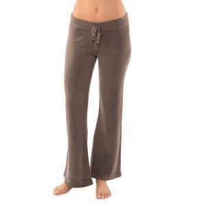 ベアフットドリームス(Barefoot Dreams)bamboo chicラウンジパンツ/ココア/Lite Pants<img class='new_mark_img2' src='https://img.shop-pro.jp/img/new/icons16.gif' style='border:none;display:inline;margin:0px;padding:0px;width:auto;' />